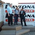 Annabel Meade Female Race Driver Karting Podium Winner