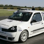 Annabel Meade's Renault Clio Cup Race Car