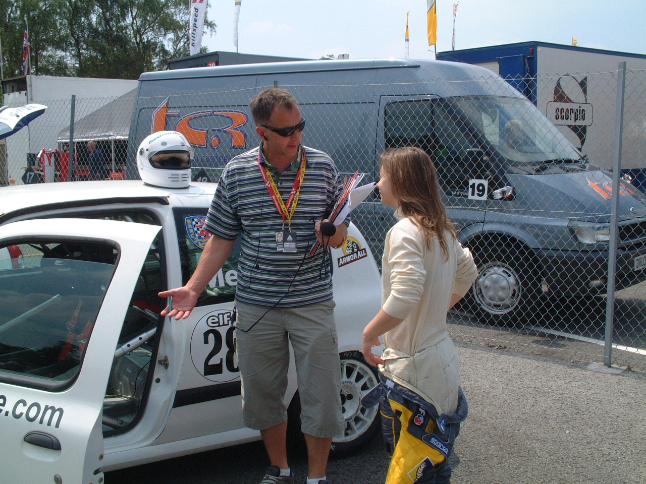 Annabel Meade Female Race Driver Interviewed