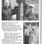 Annabel Meade Race Driver in the Daily Express